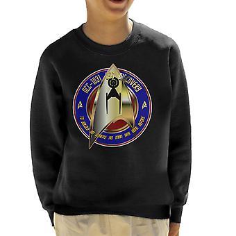 Star Trek USS Discovery NCC 1031 Kid's Sweatshirt