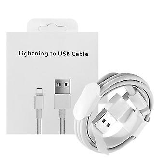 1M USB-kaapeli vakaa nopea lataus erittäin tehokkaasti kannettava datakaapeli Lightning-porttiin