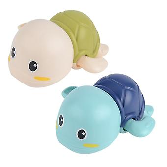 Baby Bath Water Play Cool Swim Little Turtle Spring Up Chain&s