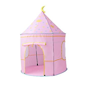 Space Themed Pretend Castle Indoor/outdoor Foldable Playhouse Tent