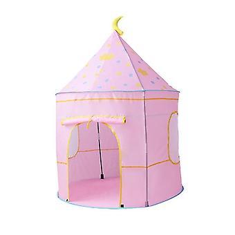 Tenda playhouse pieghevole interna / esterna a forma di castello a forma di spazio