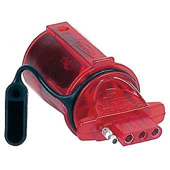 Hopkins 47335 7 RV Blade To 4-Flat Adapter Nite Glow