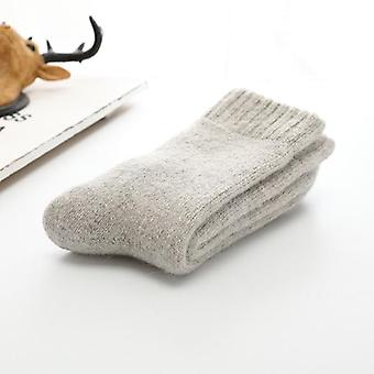 Super Thick Wool Rabbit Socks Against Cold Snow Russia Winter Warm Socks