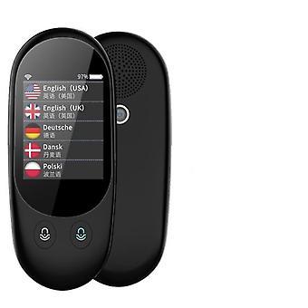 مترجم ذكي لمسح الصور الصوتية الفورية - شاشة تعمل باللمس مقاس 2.4 بوصة وواي فاي