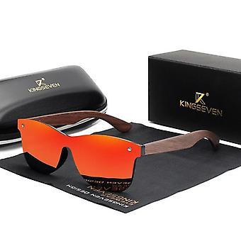 الاستقطاب الجوز نظارات خشبية مرآة خمر النظارات الشمسية / النساء