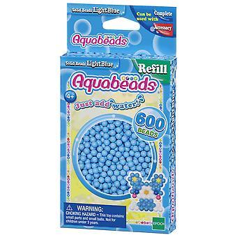 Aquabeads - margele solide - albastru deschis