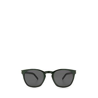 Saint Laurent SL 28 SLIM green unisex sunglasses