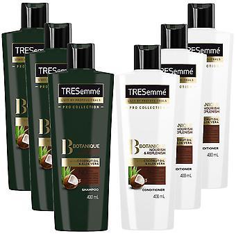 Tresemme Botanique Nourish & Replenish Bundle of Shampoo&Conditioner,400ml,1pk