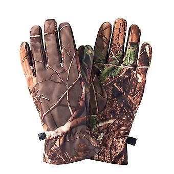 Camo Plné prstové rukavice