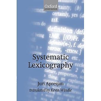 Lexicographie systématique