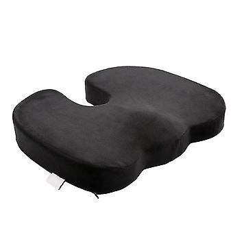 Sitzkissen Memory Foam Coccyx Kissen entwickelt für Autositz, Rollstuhl