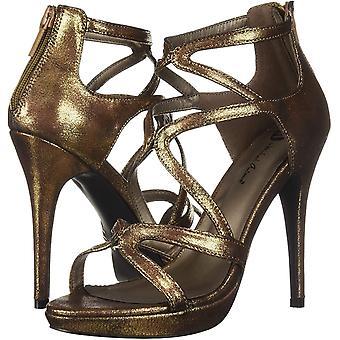 Michael Antonio Womens Natalia Fabric Open Toe Casual Ankle Strap Sandals