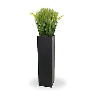 Artificial Pennisetum Foxtail Gras arrangement Deluxe 140cm in luxury pillar