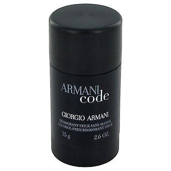 Armani Code Deodorant Stick By Giorgio Armani 2.6 oz Deodorant Stick
