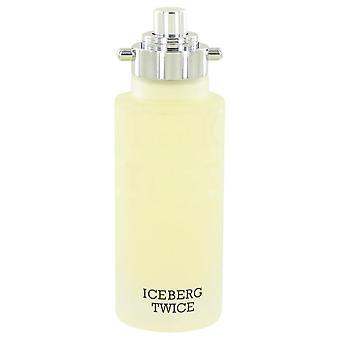 Iceberg Twice Eau De Toilette Spray (Tester) By Iceberg 4.2 oz Eau De Toilette Spray
