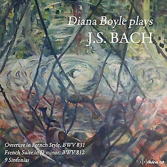Diana Boyle Plays J.S. Bach [CD] USA import