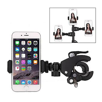 Universal Stand Cell Mobile Phone Holder Mount Stand 360 Degree Rotation Clamp