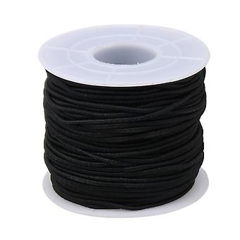 4-core Black Beading Thread Stretch String DIY Craft Jewelry Tool 400cm