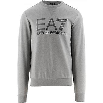 EA7 Grey Logo Sweatshirt
