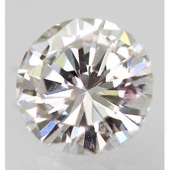 Certificado 0.44 Quilates D VS1 Redondo Brillante Diamante Suelto Natural Mejorado 5mm