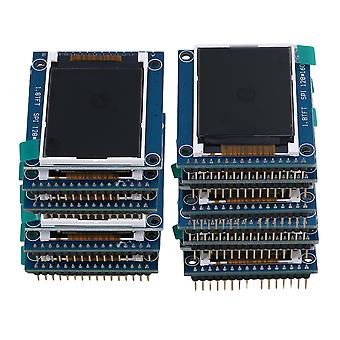 20Piece 128X160 Pixels LCD Module Display 1.8 inch Serial 262K Screen PCB Adapter