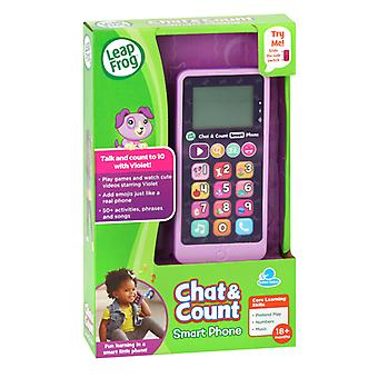 Leap Frog Chat Count Smart Phone Violet Refresh