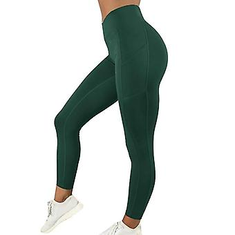 Sports Yoga Leggings High Waist Pocket