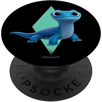 FengChun Frozen 2 Cute Salamander Bruni PopSockets PopGrip: Ausziehbarer Sockel und Griff fr