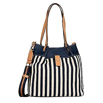 Tom Tailor Gina, Shopper. Woman, Mixed Blue, Large