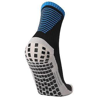 Anti Slip Soccer Socks Team Sports Socks Outdoor Fitness Breathable Quick Dry Socks Wear-resistant Athletic Socks Anti-skid Socks For Football   Basketball Hockey Sports