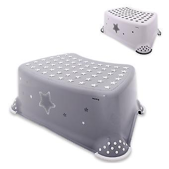 Lorelli baño infantil de una sola etapa estrellas taburete antideslizante protuberancias de goma antideslizante
