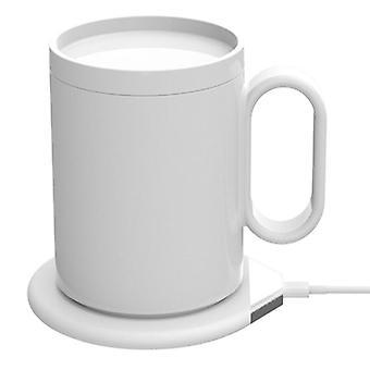 USB القدح أكثر دفئا 2 في 1 شاحن لاسلكي عالمي، فنجان القهوة حصيرة سخان التدفئة درجة الحرارة كوستر