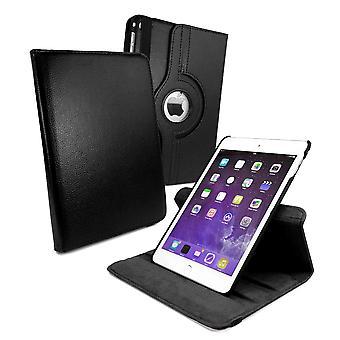 Tuff-Luv - 360 graden draaiende case - Voor iPad Mini 4 - Met slaapfunctie - Zwart