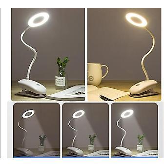 Usb ladattava Led Desk -lamppu Joustava kosketushimmennyspöytälamppupidike