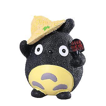 New Vinyl Totoro Piggy Bank Drop-resistant Cartoon My Neighbor Money Box ES9337