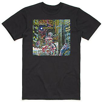 Iron Maiden - Någonstans i tidslådan Herr medium T-Shirt - Svart