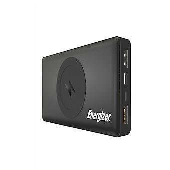 Energizer QE10000CQ portable sans fil Qi Charger Power Bank, 10000mAh - Noir
