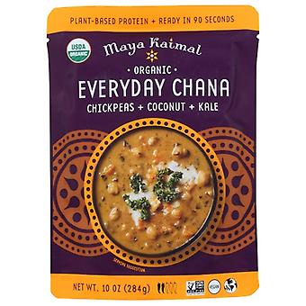 Maya Kaimal Everyday Chana Ccnt Kale, Case of 6 X 10 Oz