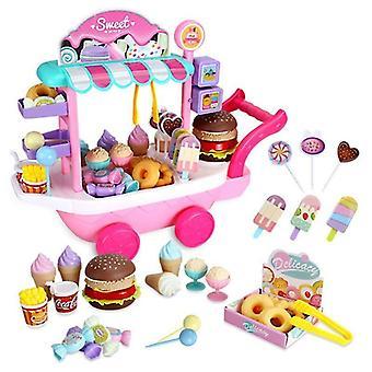 Mini Ice Cream Truck Candy Trolley House Spelen