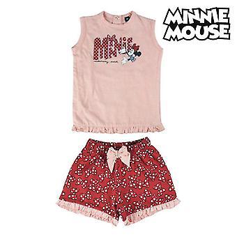 Set kleding Minnie Mouse Rood Roze