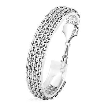 U7 Linked Bracelet-Silver