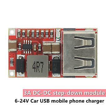 6-24V 24v 12v až 5v usb krok down modul dc-dc převodník nabíječka telefonu auto napájecí modul účinnost 97.5% buck modul