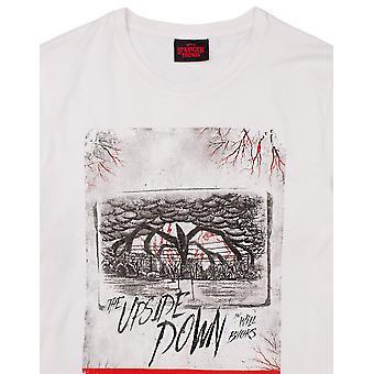 Stranger Things Mens Upside Down T-Shirt
