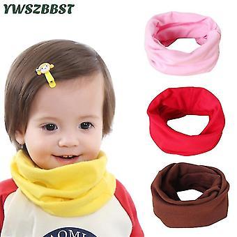Autumn Winter Baby Scarf O Ring Collar Magic Neckerchief