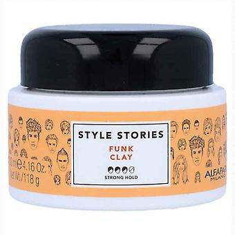 Soft Hold Wax Style Stories Alfaparf Milano Funk Clay (100 ml)