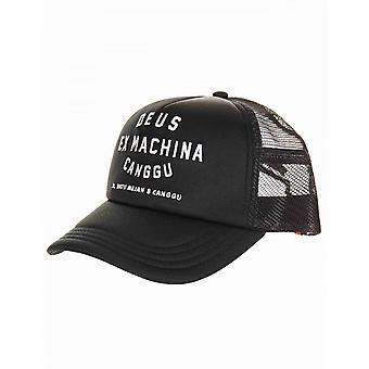 Deus Ex Machina Canggu Address Trucker Hat - Black