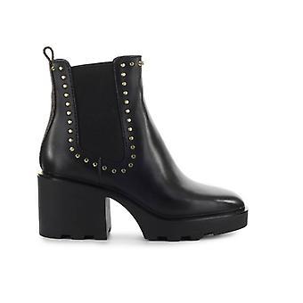 Michael Kors Keisha Black Studs Ankle Boot