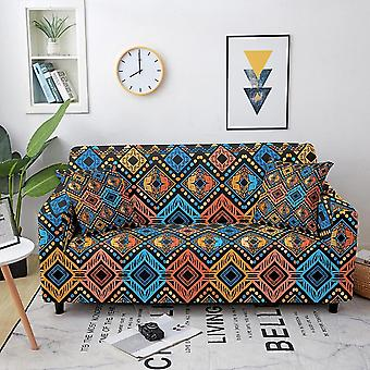 Elastic sofa covers for living room stretch bohemian non-slip couch cover sofa slipcover chair protector 1/2/3/4 seater