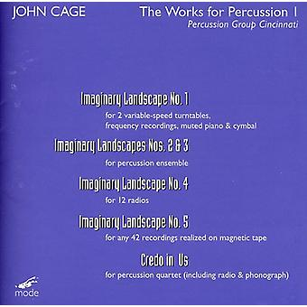 John Cage - Works for Percussion 1 [DVD] USA import