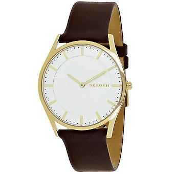 Skagen Men's Holst White Dial Watch - SKW6225